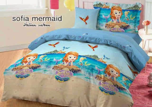 Sprei Jepang Anak Motif Sofia Mermaid