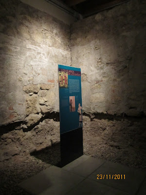 vista interior baños califales