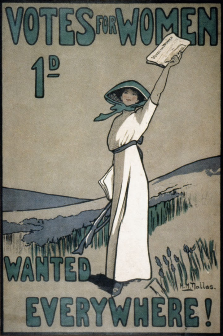 suffragette poster, illustration, magazine, pamphlet, drawing, cartoon, vote for women, voting rights for women, suffragist movement, history, historical, turn of the century