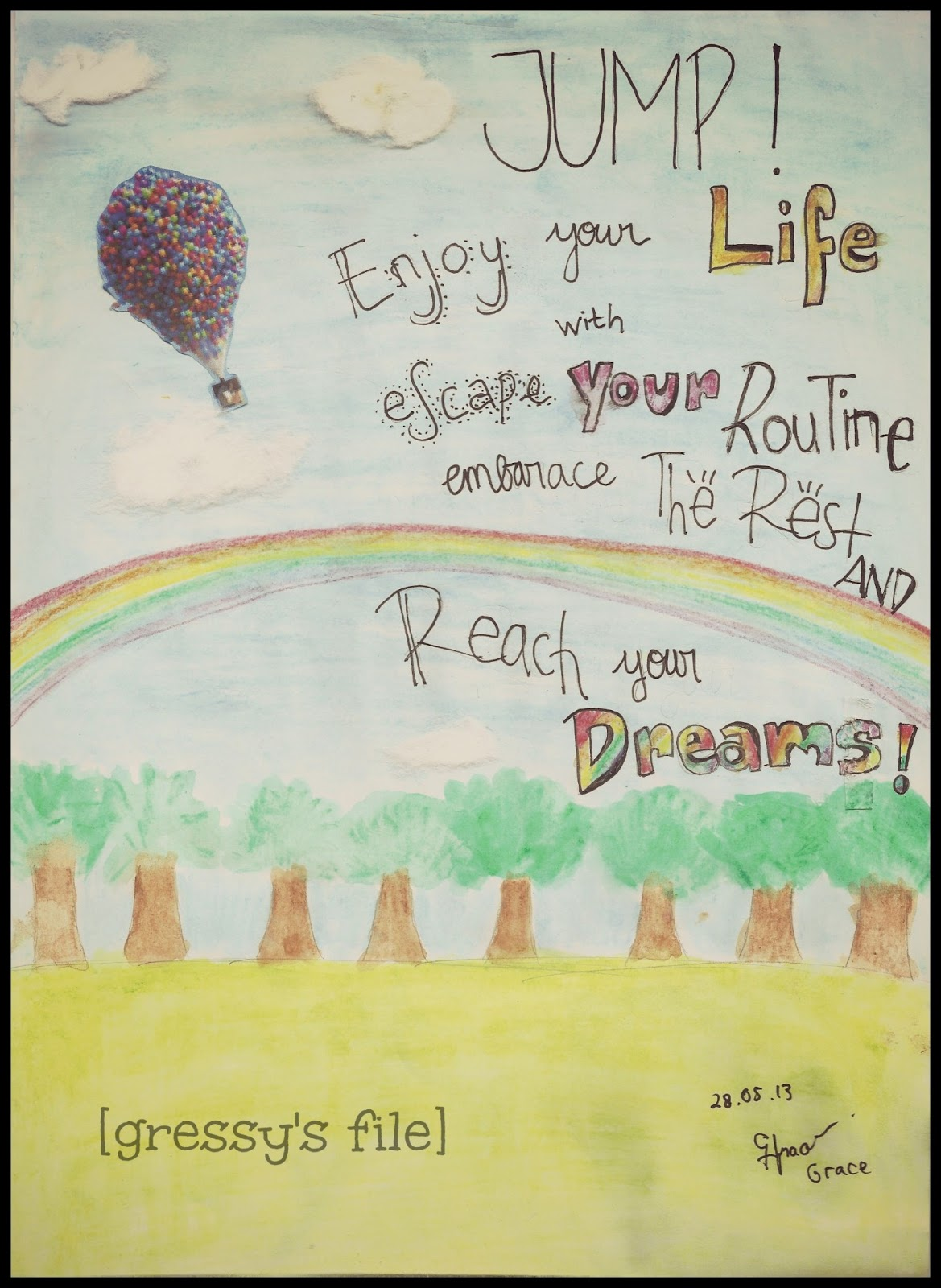reaching your dreams Courage comes in many forms we see people who sacrifice their life in acts of rescue, and people who stand up for moral and ethical beliefs despite the consequences though, courage also comes in the everyday garden variety this is the type of courage that you and i experience each day when we confront our fears,.