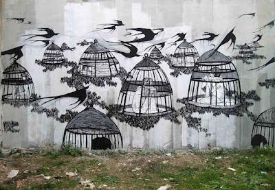 contemporary urban art - urban graffiti photography