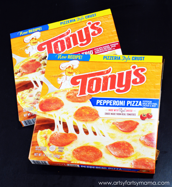 Save 75¢ off two Tony's Pizzas for your Family Game Night on a Budget! #pmedia #tonyspizzeria