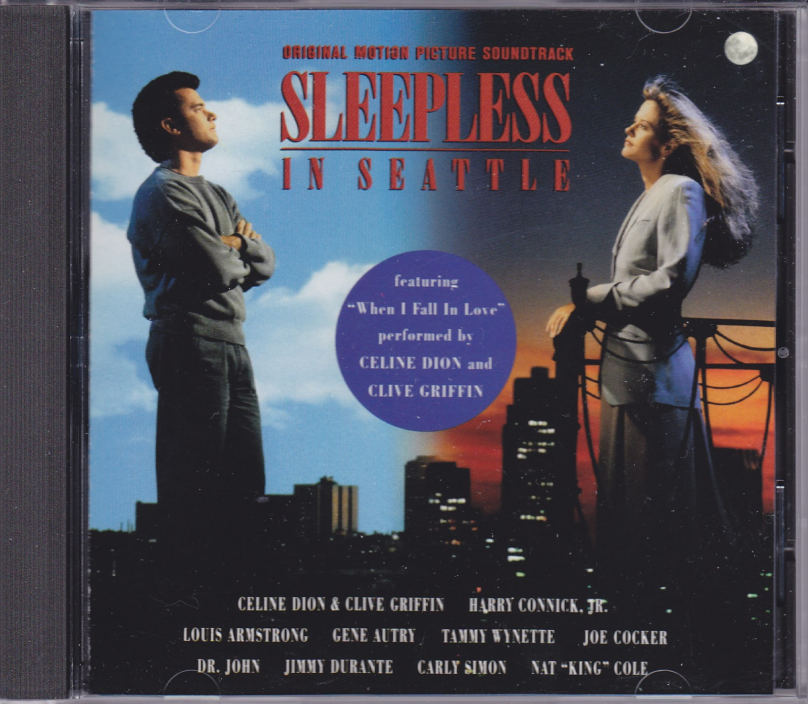 Sleepless in Seattle movie soundtrack | CD & LP Cover Art
