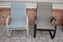 DIY Spray-Paint Patio Furniture