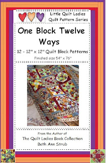 One Quilt Block Twelve Ways Quilt Pattern How to eBook