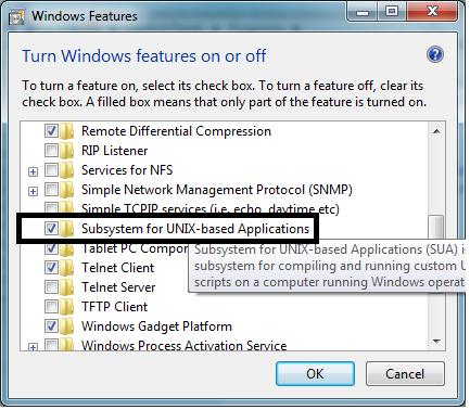 is windows unix based