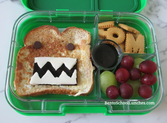 Domo french toast breakfast for lunch
