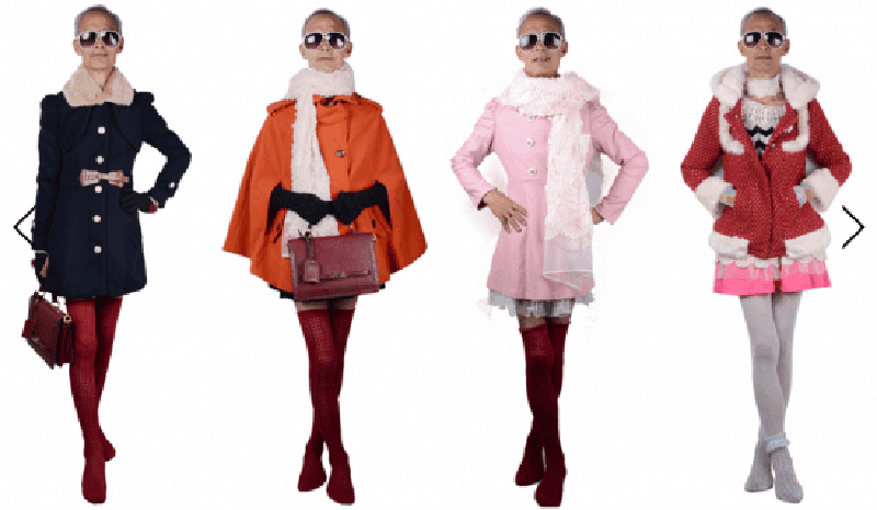 72 year old grandpa models teen girl outfits.