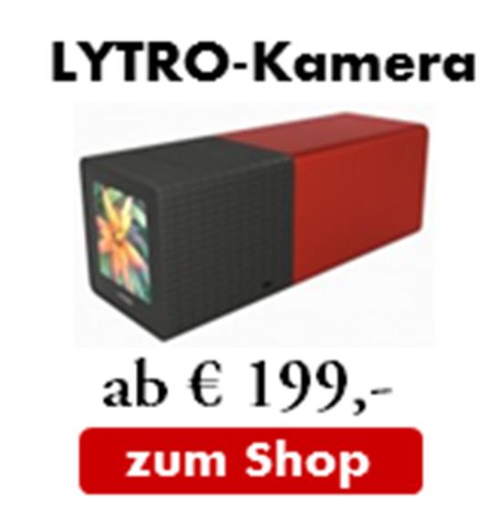 Lytro Lichtfeldkamera jetzt bestellen