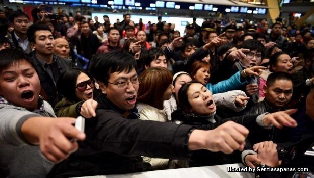 Pelancong China Teruk