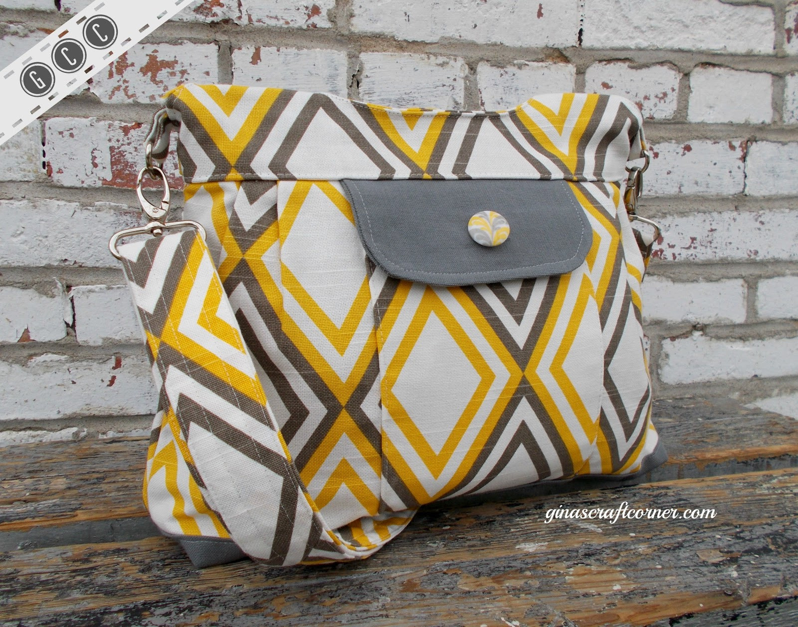Gina s craft corner my new concealed carry purse reveal and