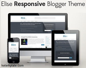 Elise Responsive Blogger Template 2014