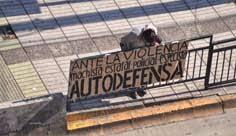 ANTE LA VIOLENCIA MACHISTA ESTATAL-POLICIAL-ESPECISTA: AUTODEFENSA!!!