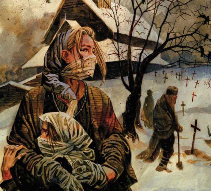 Northlanders Brian Wood La viuda de la Plaga.