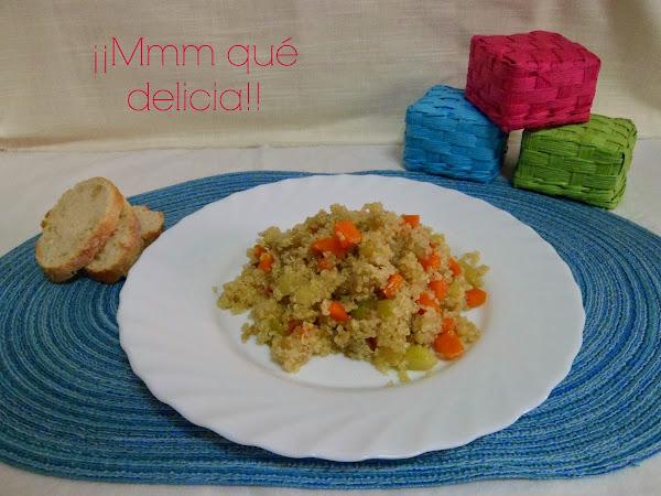 Quinoa con verduras cocinar en casa es - Cocinar quinoa con verduras ...