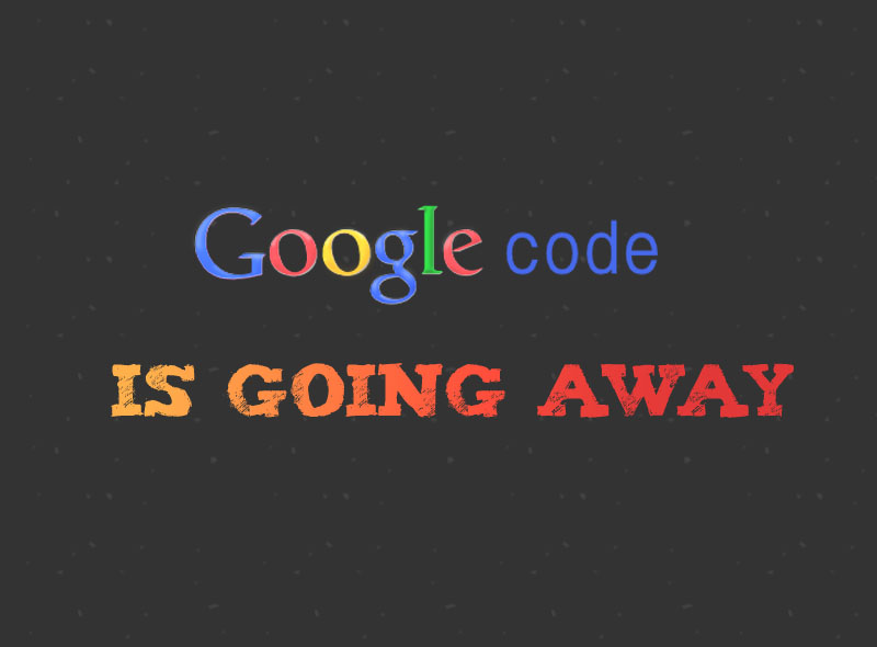 google code going away