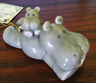 One of my mother's favorite family stories to tell on me is about the year I didn't get a hippopotamus for Christmas.