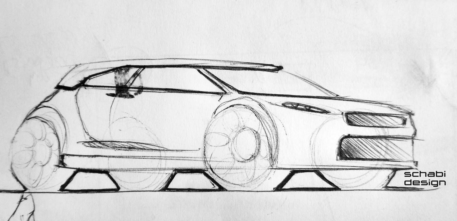 Schabi Design Sketch Site: Car Sketch