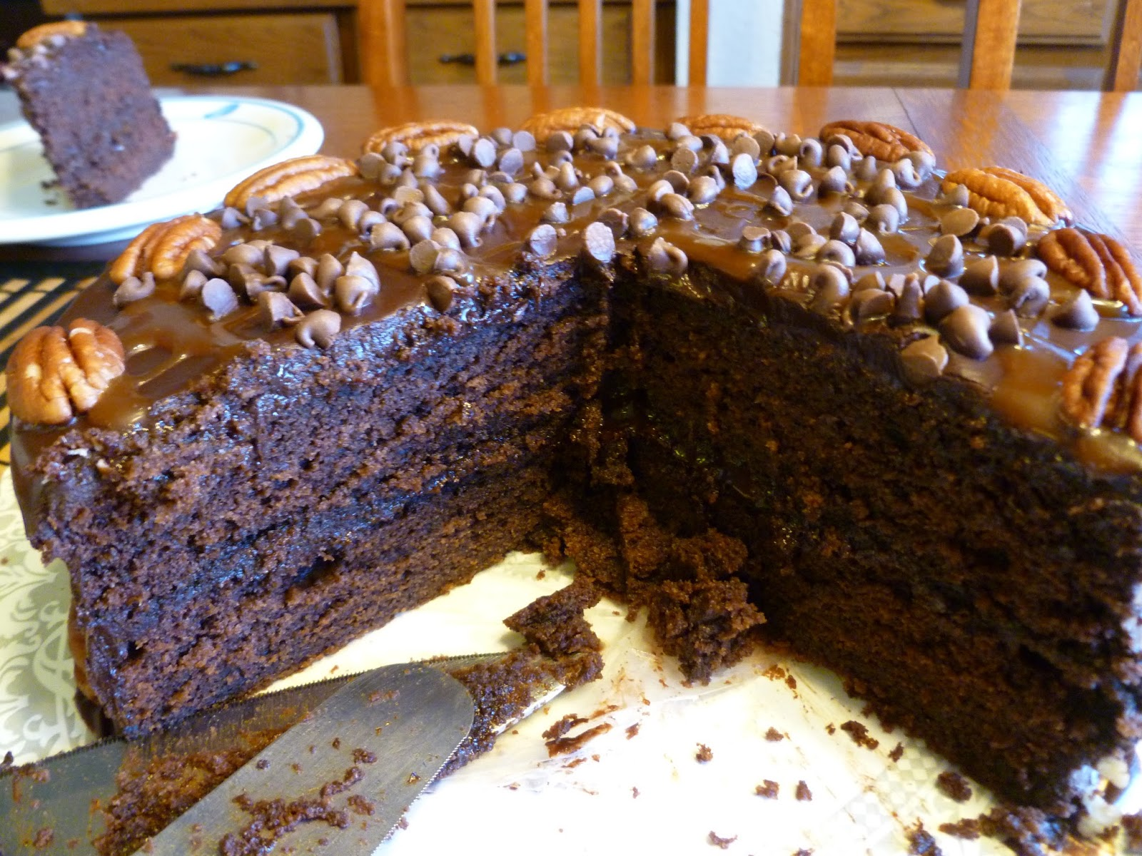 The Pastry Chef s Baking: Chocolate Turtle Cake
