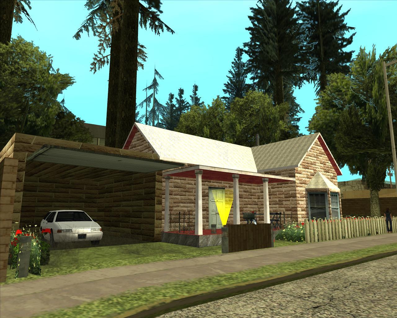 Nova casa em country mixmods mods para gta sa e outros for Casa moderna gta sa