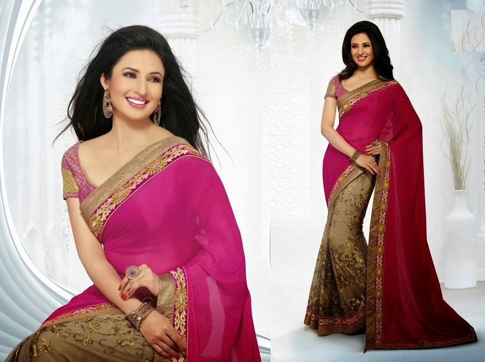 Divyanka Triapthi Saree Modelling Wallpapers HD Pics for Ehtnicpoint ...
