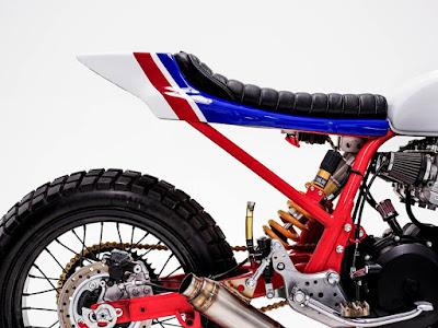 Honda CB750 Flat Track Seat