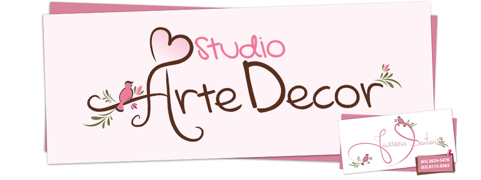 Jussara Sartori ♥ Studio Arte Decor