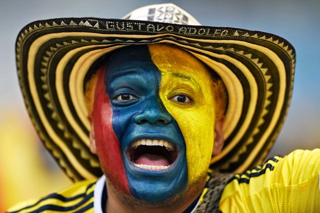 Colombian supporter