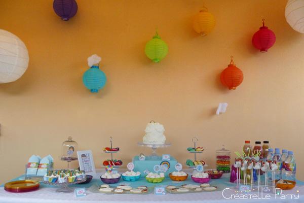 Sweet table arc-en-ciel / rainbow