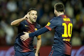 Hasil Skor Akhir Pertandingan Valladolid vs Barcelona 23 Desember 2012