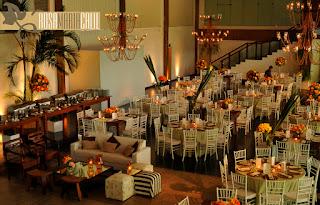 Casamento , mesas , casa  espanha , verde  laranja , festa dia