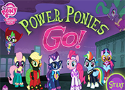 MLP Power Ponies Go