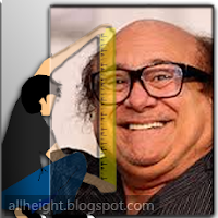 What is the height of Danny DeVito?