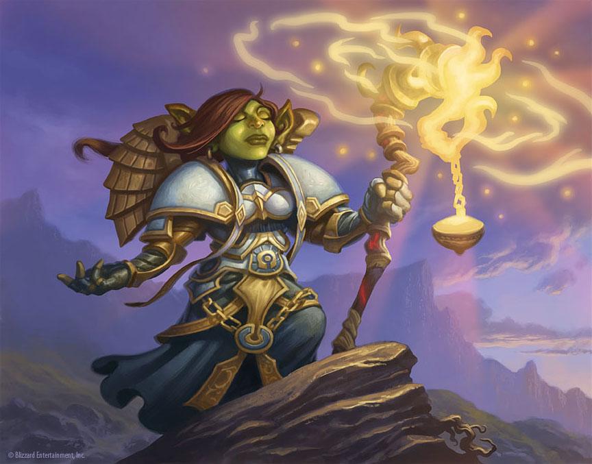 the art of jim nelson goblin priestess