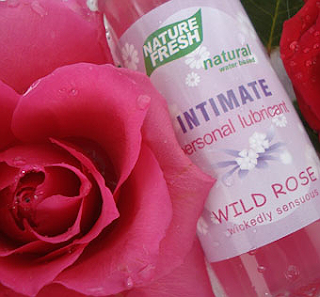 "Intimate Personal Lubricant ""WILD ROSE wickedly sensuous"" by Nature Fresh"