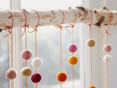 Guirnaldas para navidad hechas a mano decorar decoraci n - Decoracion hecha en casa ...