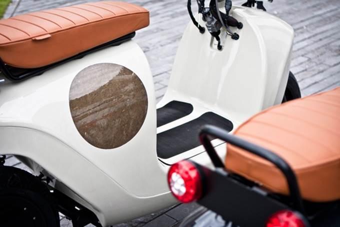 bahagian badan skuter elektrik