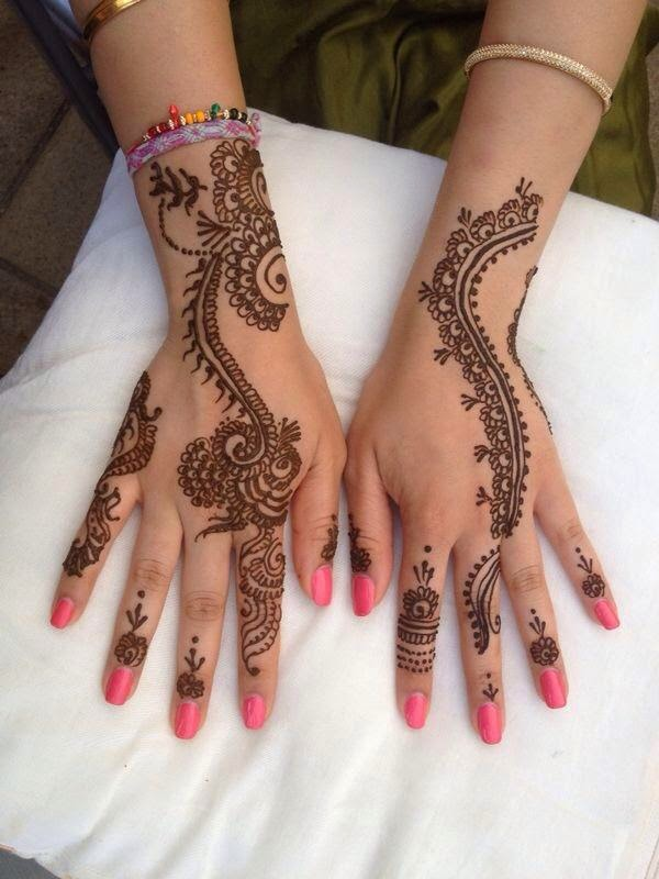 Bridal Mehndi Designs 2015 Collection