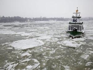 El frente frío Siberiano azota a Europa.