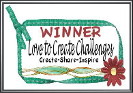 Love to Create Challenge #29 Winner