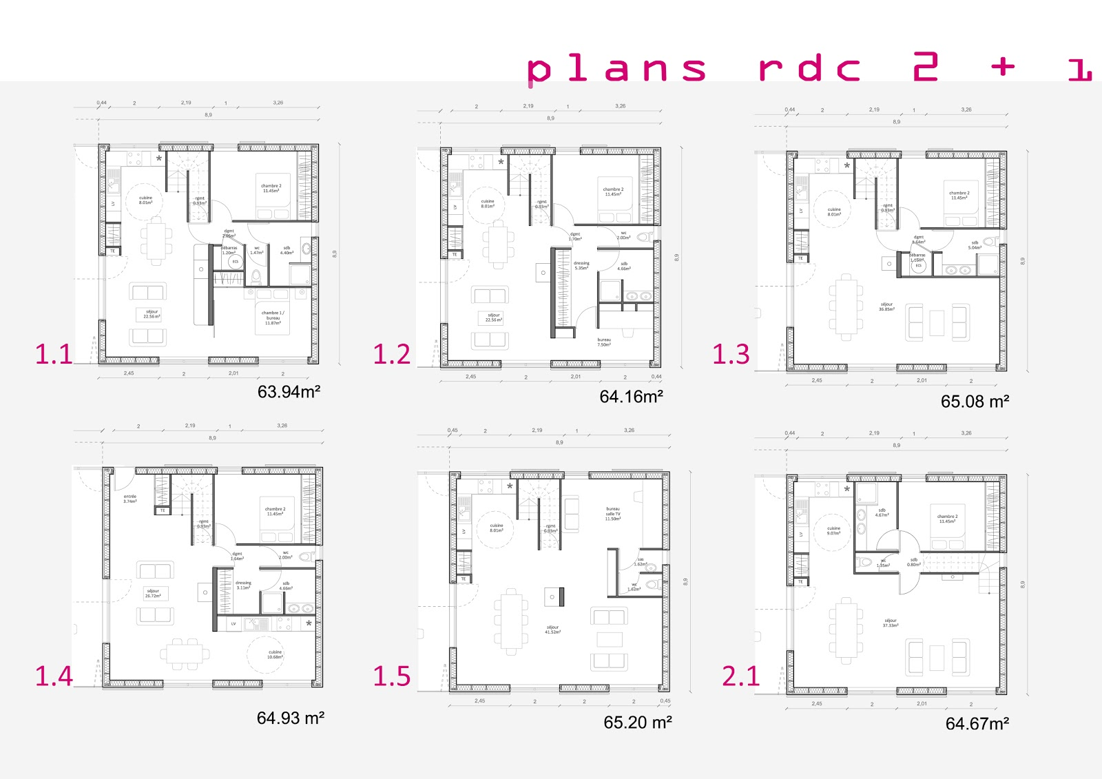 Rapha lle assa maxiloft un concept de maison contemporaine modulaire - Plan de maison modulaire ...