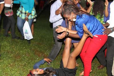 Kenyan lady nude in public opinion, interesting