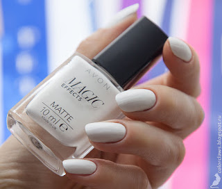 Avon Magic Effects Matte White
