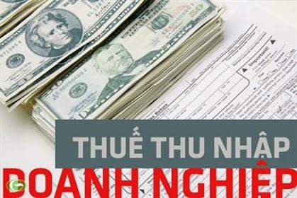 Những điểm cần biết về thuế TNDN 2013