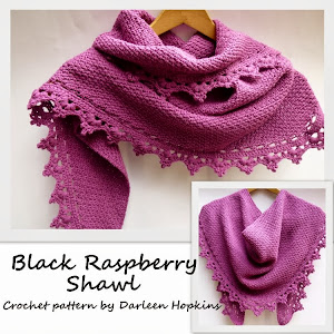 Black Raspberry Shawl