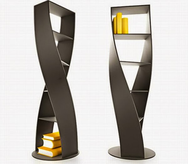 Nice modern bookshelves design