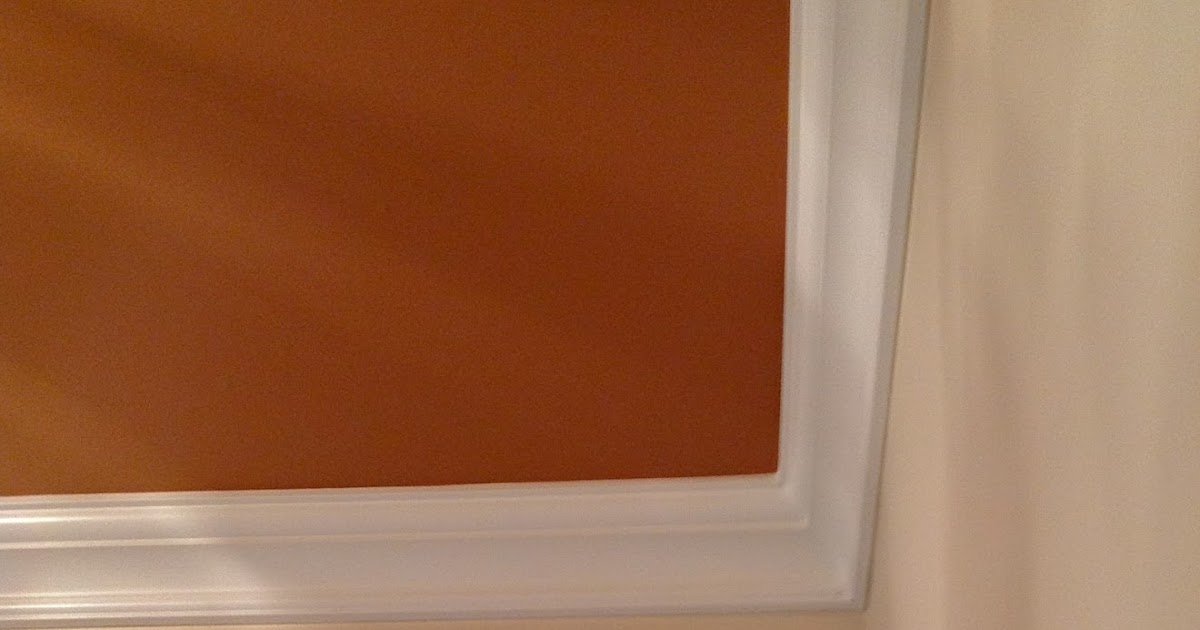 Color Forte Benjamin Moore Copper Mountain Ceiling