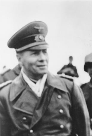 Rommel grinning