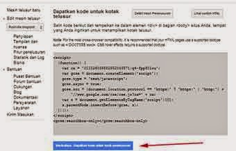 Cara Membuat Google Search Costum