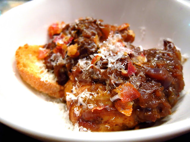 Braised Chicken with Sweet Onions and Parmigiano,